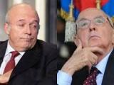 Giorgio Napolitano e le accuse di vilipendio assolto Francesco Storace